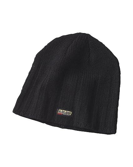 5a68c8c6fab Blaklader Wooly Winter Hat Black OS   Work Bandana Bundle at Amazon ...