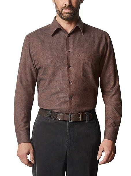 hot sale online biggest discount great look Walbusch Herren Hemd Thermoflanell Softmelange Comfort Fit ...