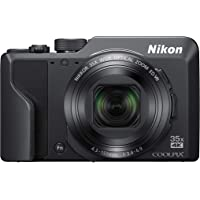 Nikon COOLPIX A1000 Digital Camera , Black (A1000)