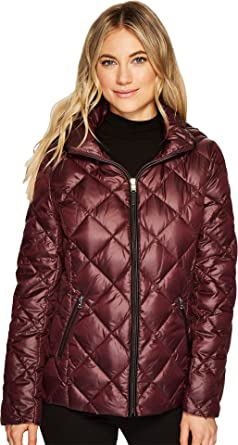 974d95bde Lauren by Ralph Lauren Womens Short Diamond Quilt Packable with Hood