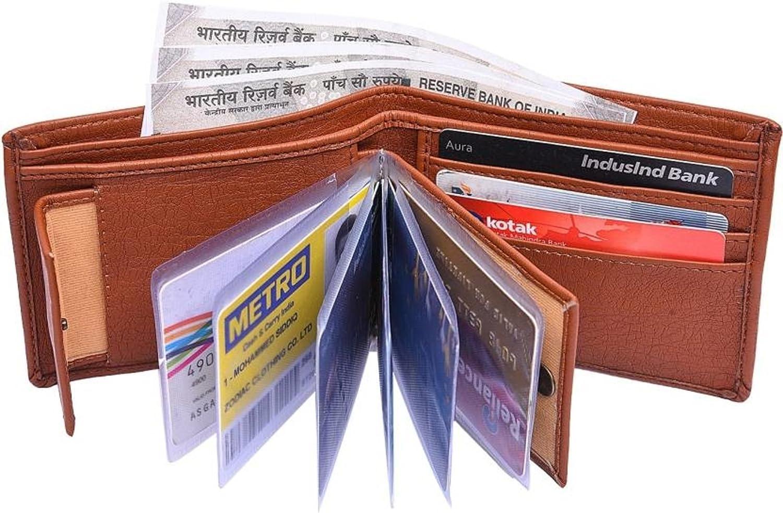 Aaleezah Enterprises Tan Men's Wallet