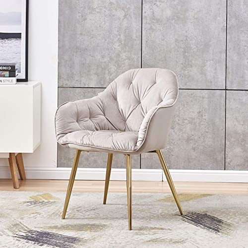 HOMEFUN Upholstered Accent Arm Chair