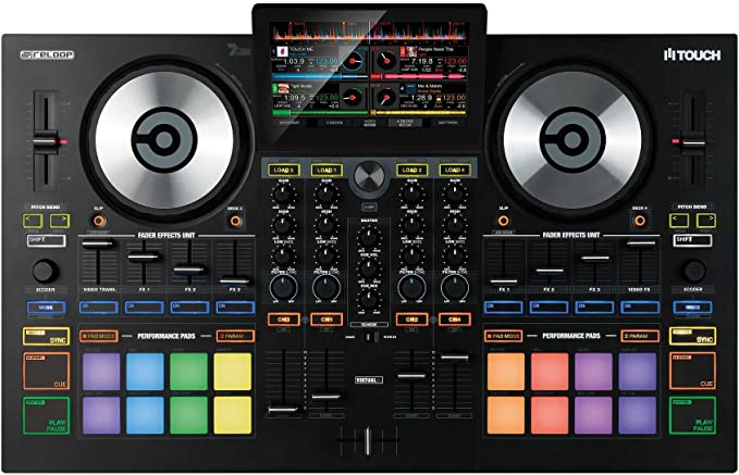 Amazon.com: Reloop TOUCH DJ Controller with Integrated 7-Inch Touchscreen: Musical Instruments