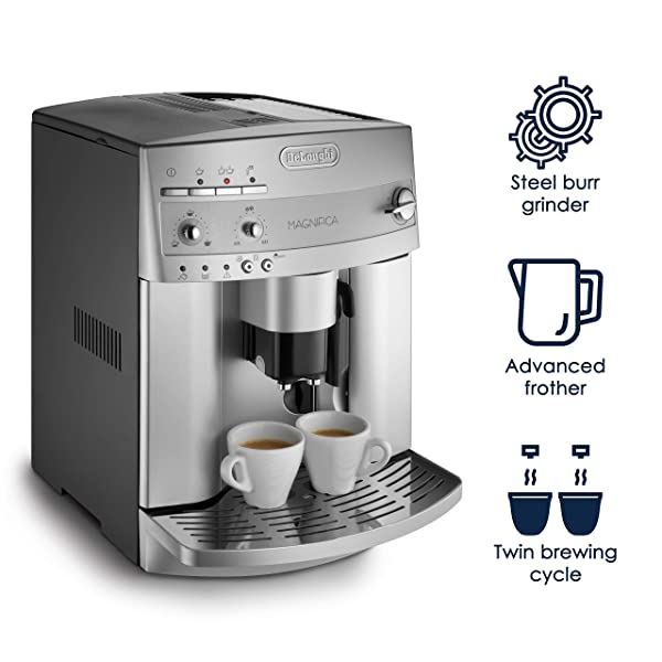 DeLonghi-ESAM3300-Magnifica-Super-Automatic-Espresso/Coffee-Machine