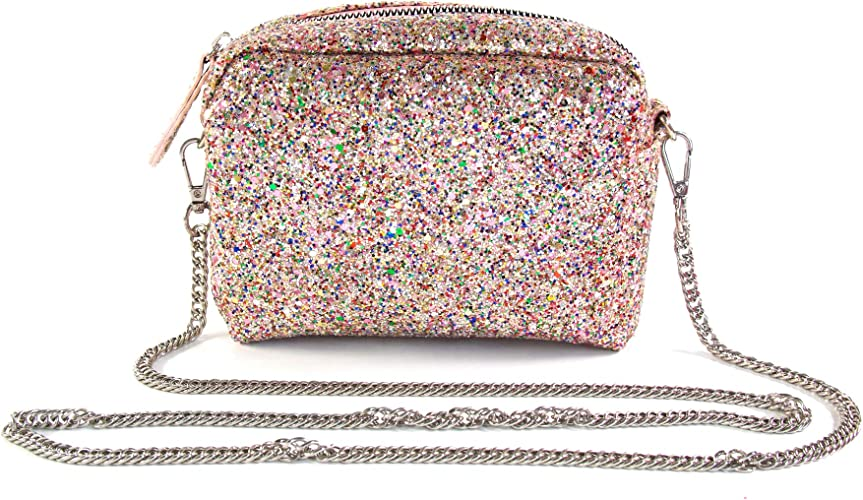 Fashion Small Bag Sequin Crown Children/'s Messenger Bag Shoulder Bag Accessories