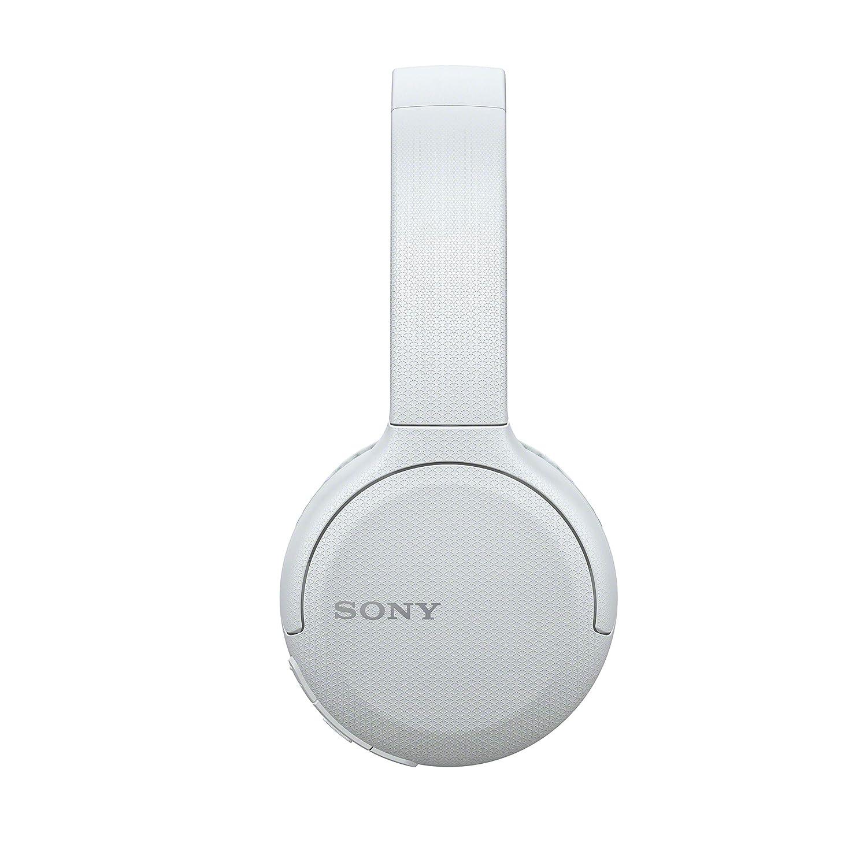 Auriculares inal/ámbricos Sony WH-CH510 Bluetooth, hasta 35h de bater/ía, Manos Libres, Compatible con asistentes de Voz Blanco