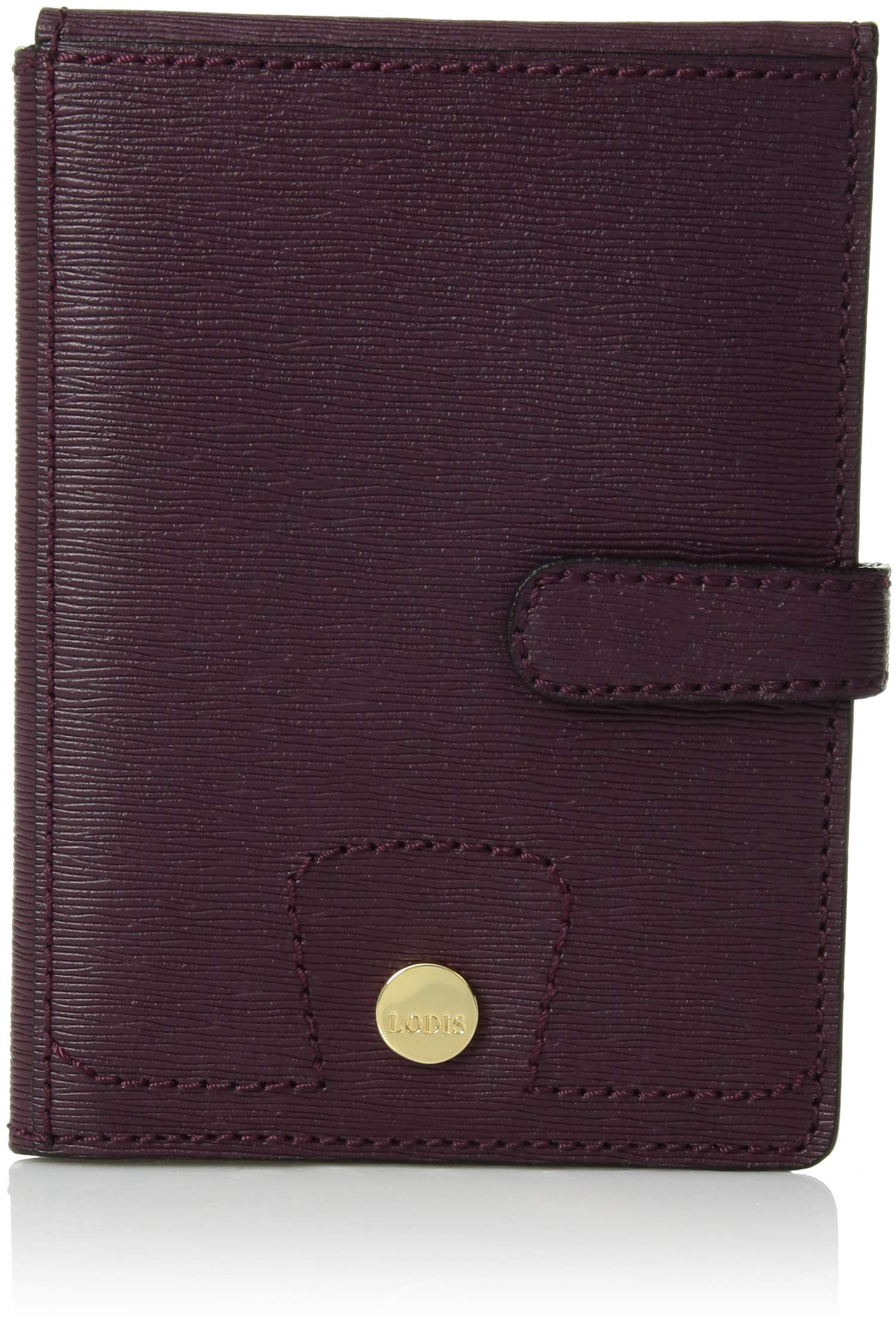 Lodis Accessories Women's Belair Passport Wallet with Ticket Flap Plum One Size by Lodis Accessories