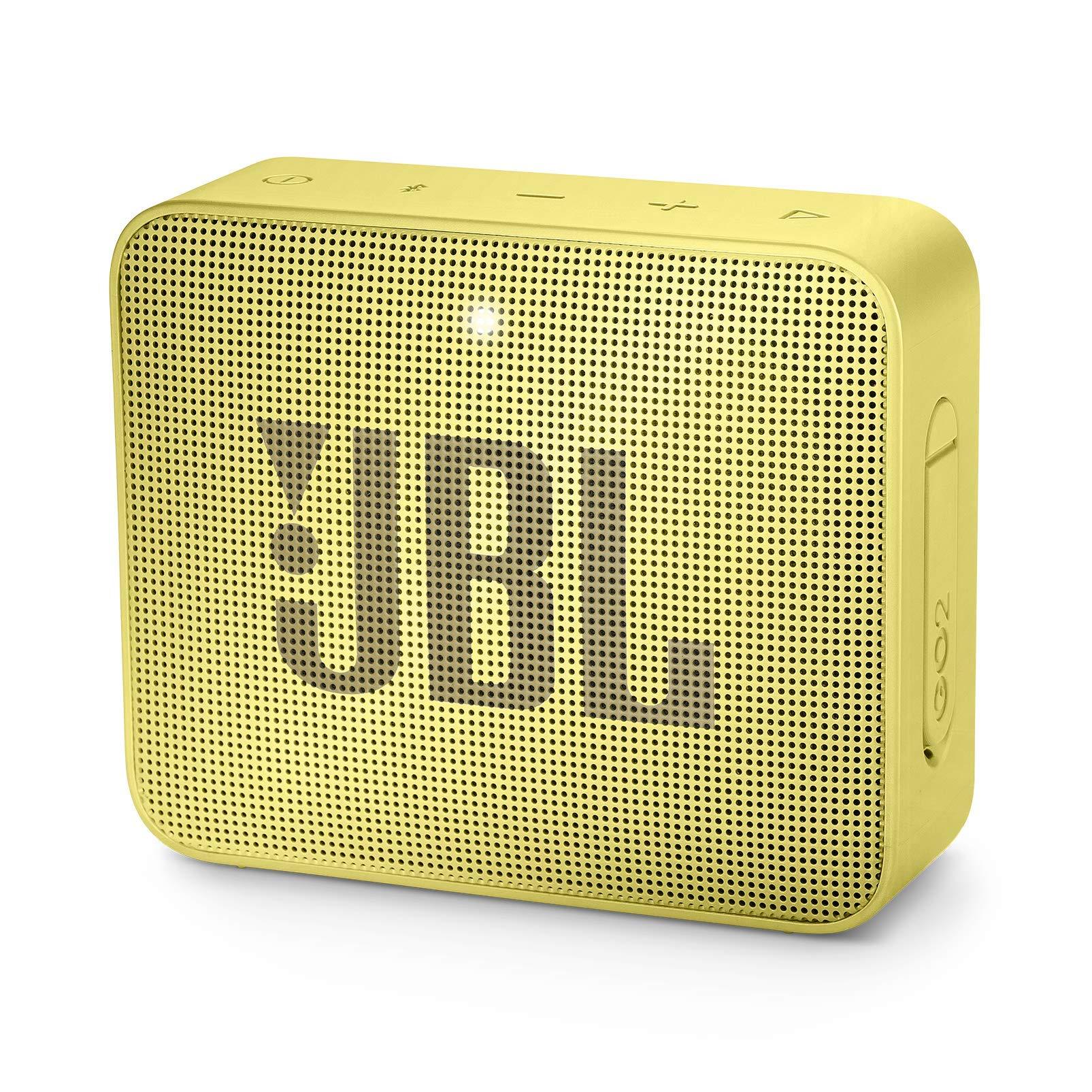 JBL JBLGO2SYL GO 2 Portable Bluetooth Waterproof Speaker (Yellow)