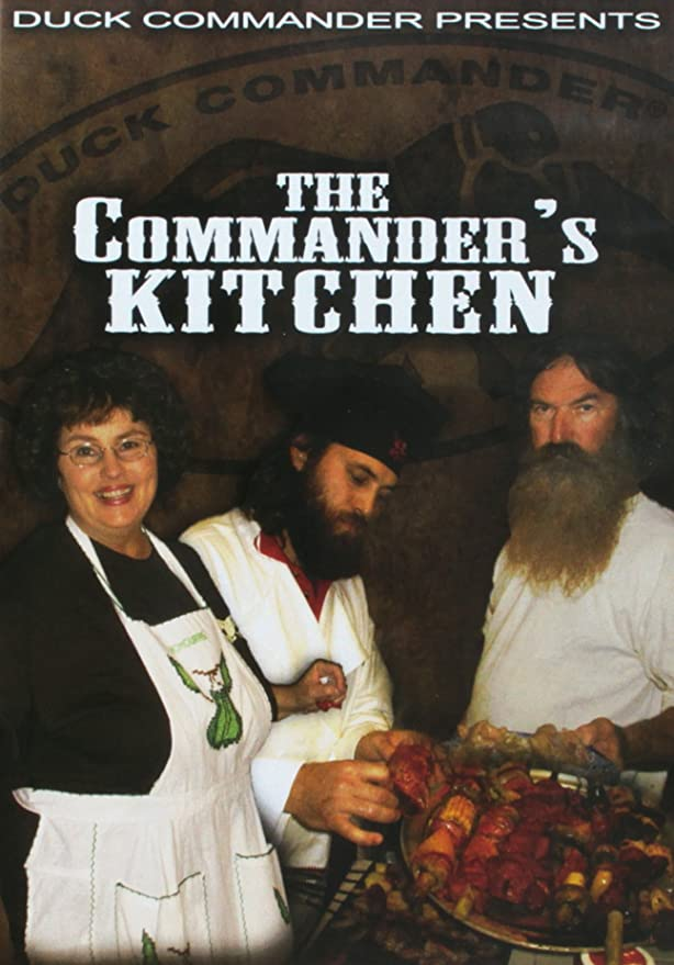 Amazon.com: The Commander\'s Kitchen - Cooking DVD: Duck Commander ...