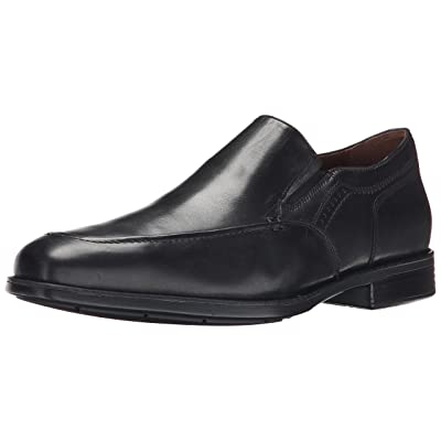 Johnston & Murphy Men's Branning Moc Venetian Slip-On Loafer, Black Waterproof Calfskin, 8 M US | Loafers & Slip-Ons