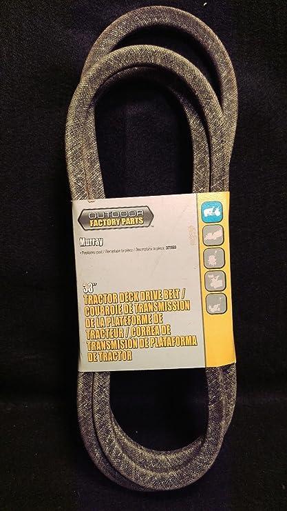 amazon com : murray 37x63 replacement belt made with kevlar : lawn mower  belts : garden & outdoor