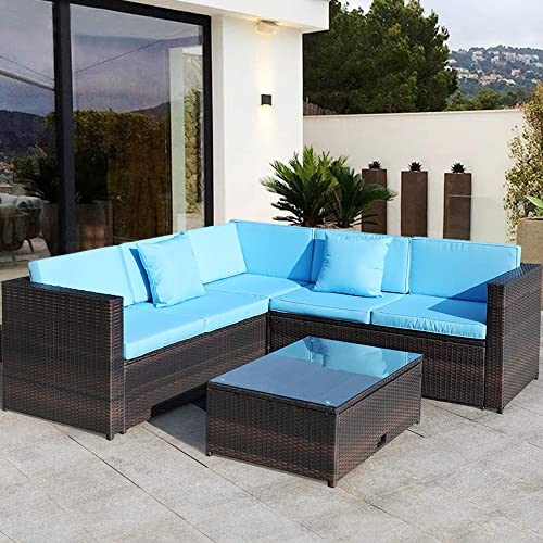 Sandinrayli 5PCs Patio Furniture Set