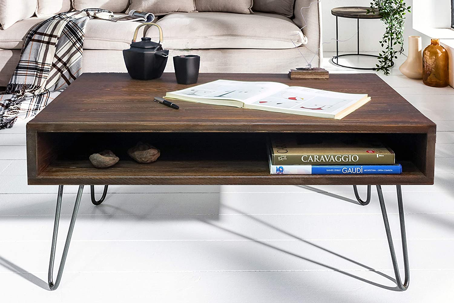 - Square Coffee Table Modern, Coffee Table Rustic, Coffee Table