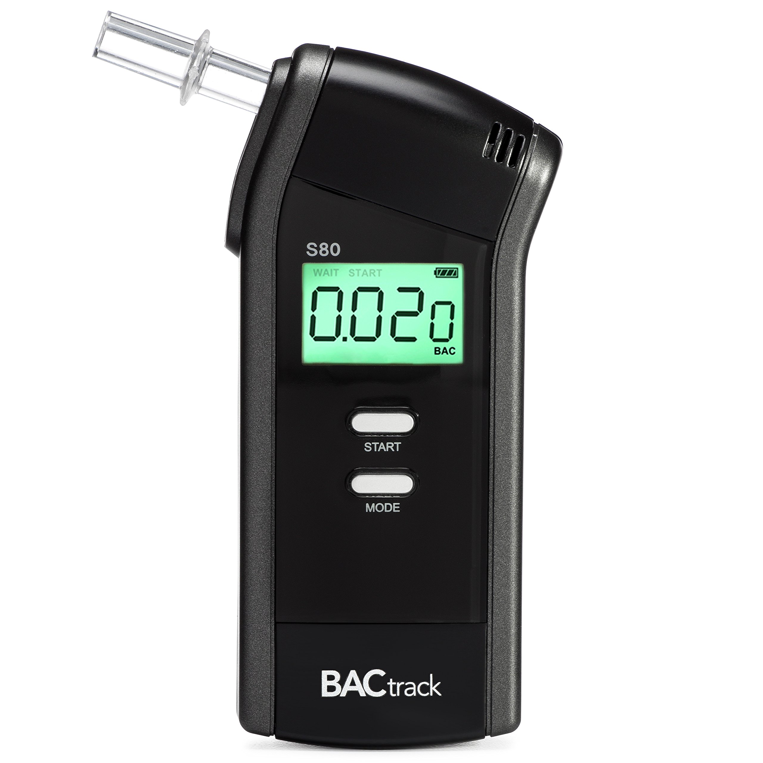 BACtrack S80 Breathalyzer | Professional-Grade Accuracy | DOT & NHTSA Approved | FDA 510(k) Cleared | Portable Breath Alcohol Tester for Personal & Professional Use by BACtrack
