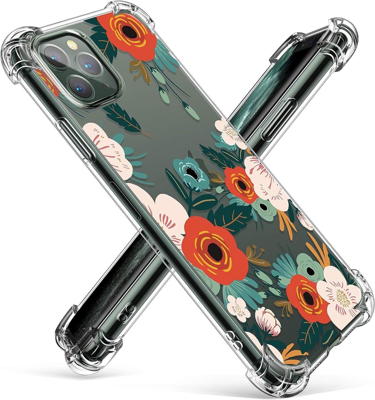 INECK® Coque iPhone 11 Pro Max Transparente Ultra Fine Bumper en TPU de Protection pour Apple iPhone 11 Pro Max