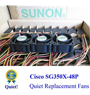 LOT 2X New Replacement Fans for Cisco SG200-50 SLM2048T-NA Switch