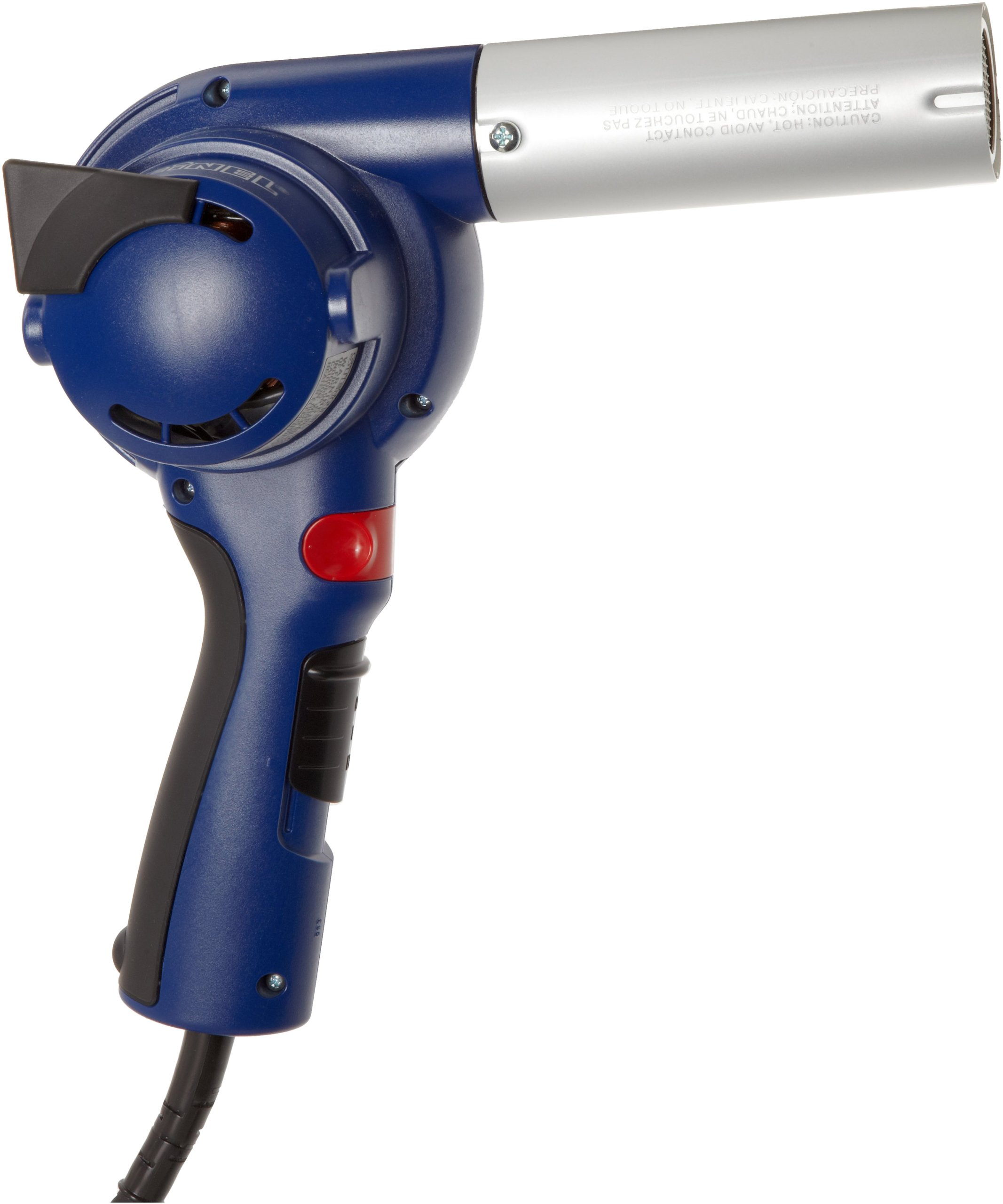 Steinel HB 1750 - Powerful turbine blower with air delivery rate up to 23 cfm, All Color coded keys for the right temperature every time, Maintenance free factory sealed motor, Lightweight, Heat Gun with well balanced design Soft Grip Handle and convenien