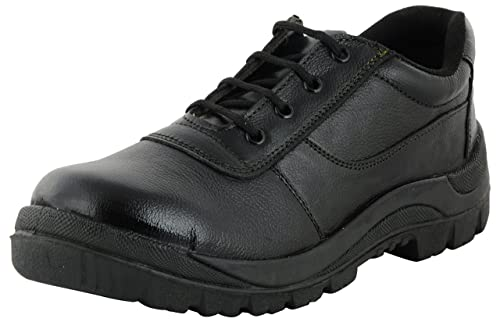 cute free shipping first rate Buy STYLINO Men's Leather Safety Shoes at Amazon.in
