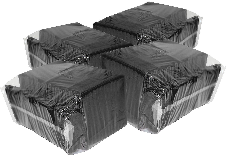 100プレミアム空白飲料クーラー B018RHBTMA  ブラック