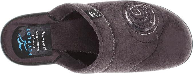 Canvas clogs slipper slip-on shoe black Ladies slipper by FlyFlot