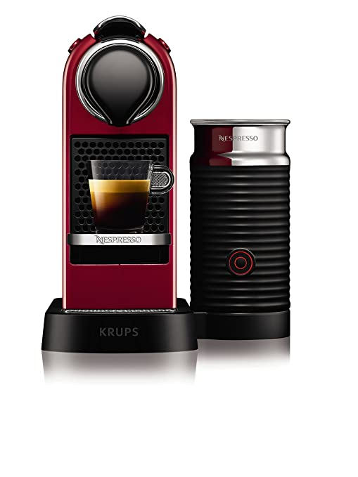 Krups yy2730fd Nespresso Citiz espumador de leche rojo ...