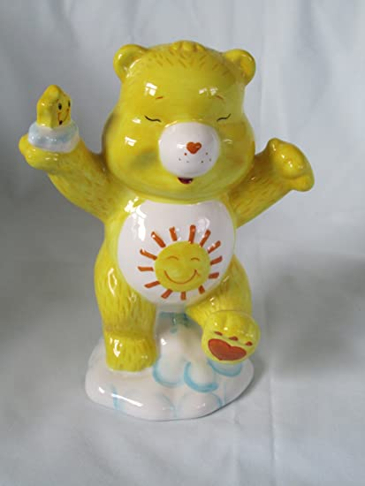 Amazon.com: Care Bear amarillo Funshine oso porcelana Piggy ...