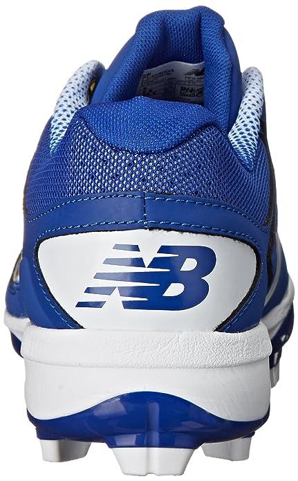 New Balance Hombre PL4040V3 TPU Baseball Shoe, Royal/White, 50 D EU