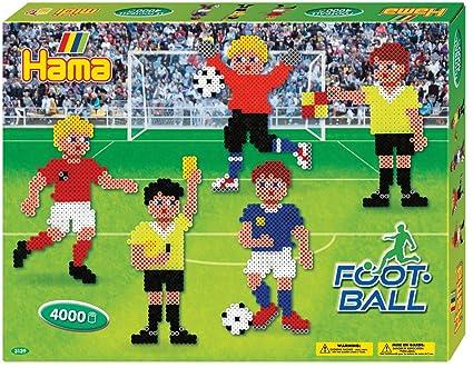 Amazon.com: Hama Beads Football Gift Box (Large): Toys & Games