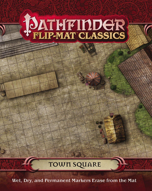Pathfinder Flip-Mat Classics: Town Square: Macourek, Corey, Radney-MacFarland, Stephen: Amazon.es: Juguetes y juegos