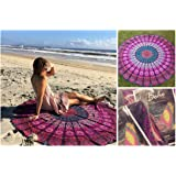 The Boho Street Branded Cotton Mandala Roundies, Beach Throw, Indian Mandala Tapestry, Yoga Mat, Picnic Mat , Table throw