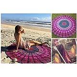 Amazon Price History for:The Boho Street Branded Cotton Mandala Roundies, Beach Throw, Indian Mandala Tapestry, Yoga Mat, Picnic Mat , Table throw