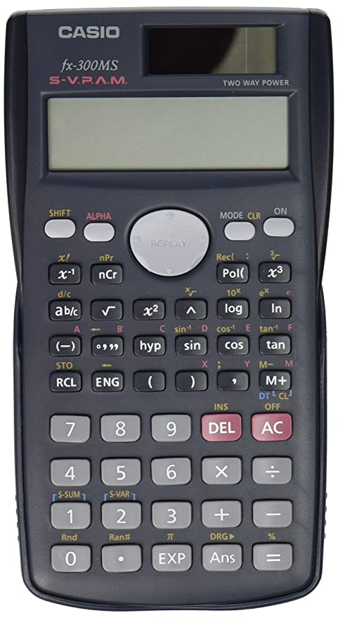 amazon com casio fx 300ms scientific calculator office products rh amazon com Casio FX 300Ms Plus Casio FX- 300 ES