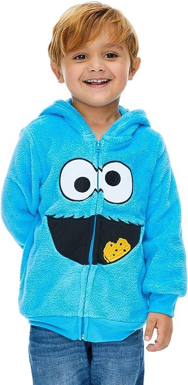 Sesame Street Half Zip Fleece Hoodie Boys Active Hoodies