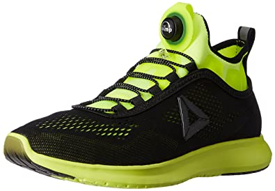 d4edd573b Reebok Men's Pump Plus Tech Solar Yellow and Black Running Shoes - 10  UK/India