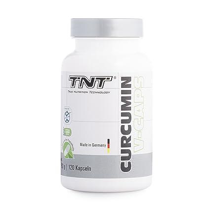 kurkuma de cápsulas de TNT | curcumina + bioperin hochdosiert | Premium Calidad de Alemania |