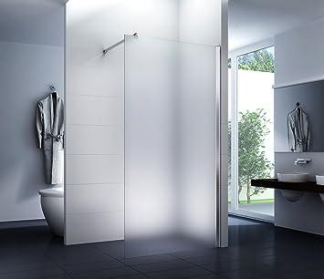 Mampara de ducha Frost 90 x 200 cm - Walk-In Cabina de ducha Ducha Vidrio de seguridad 10 mm: Amazon.es: Bricolaje y herramientas