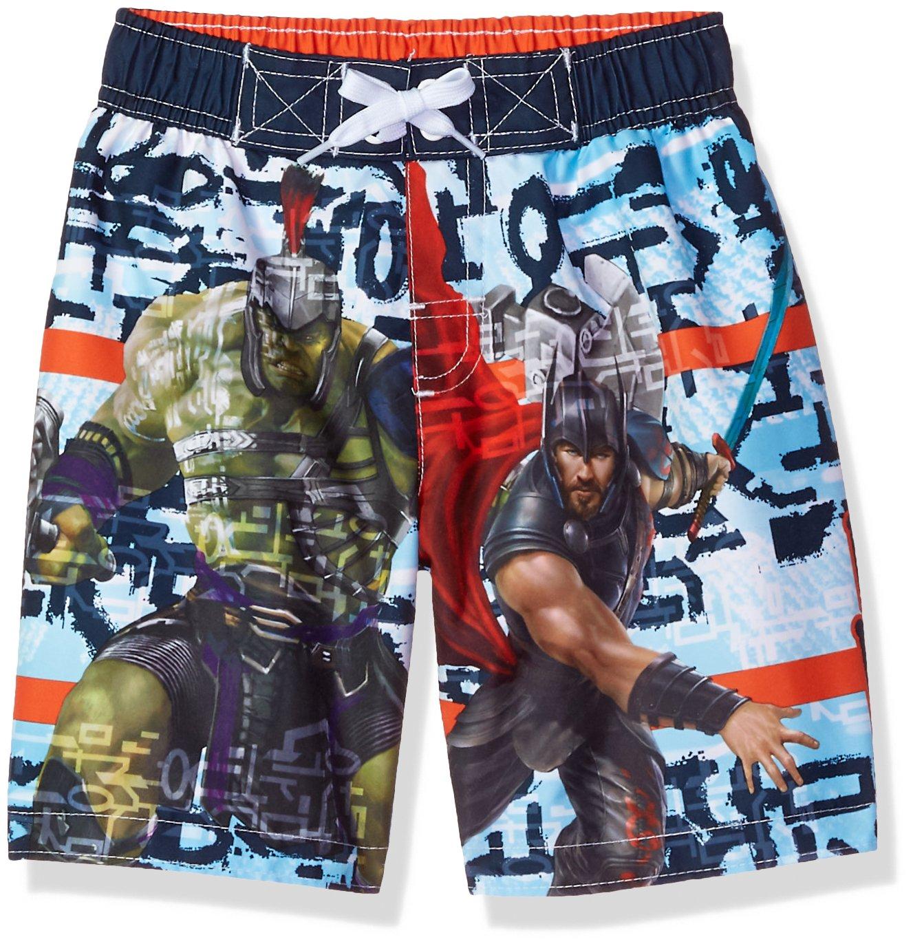 34ce14c3bb Marvel Boys Big Thor Swim Trunk 3835260GN Clothing, Shoes & Jewelry