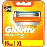 Gillette Fusion5 scheermesjes, 16 stuks, voor brievenbus geschikte verpakking