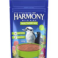 Harmony Insectivore Protein Bird Feed Mix, 5 Pack, 500 Grams