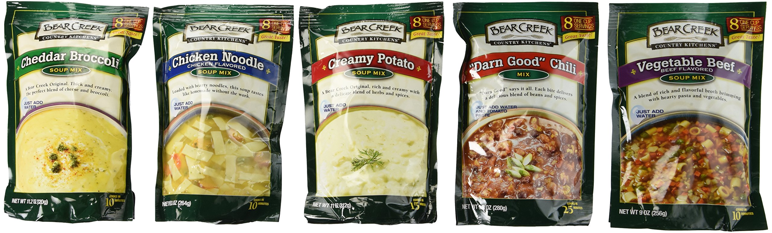 Bear Creek Country Kitchens Soup Mix Variety Pack Buy Online In Moldova At Moldova Desertcart Com Productid 14519756