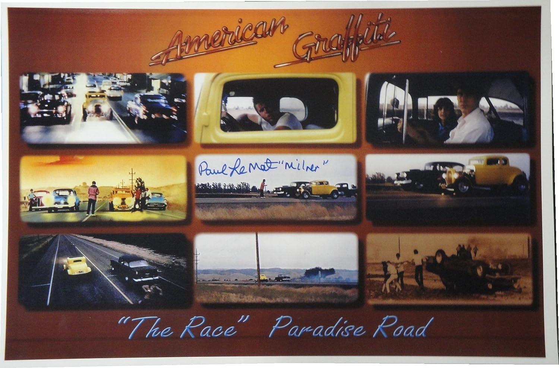 Paul Le Mat Hand Signed 12x18 Photo American Graffiti'Milner' Plus COA Paul Le Mat Hand Signed 12x18 Photo American GraffitiMilner Plus COA