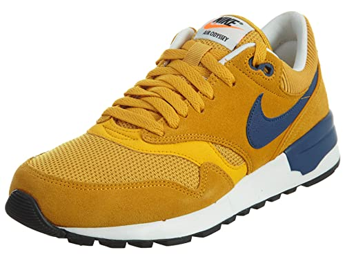 online retailer 64c50 cac1d Nike AIR ODYSSEY mens fashion-sneakers 652989 Gold LeafCoastal  Blue-univers 8 D(M) US Amazon.in Shoes  Handbags