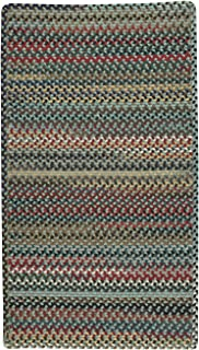 """product image for Capel Rugs Bunker Hill Braided Rug - Leaf Green - 11' 4"""" x 14' 4"""" - Cross Sewn Rectangle"""