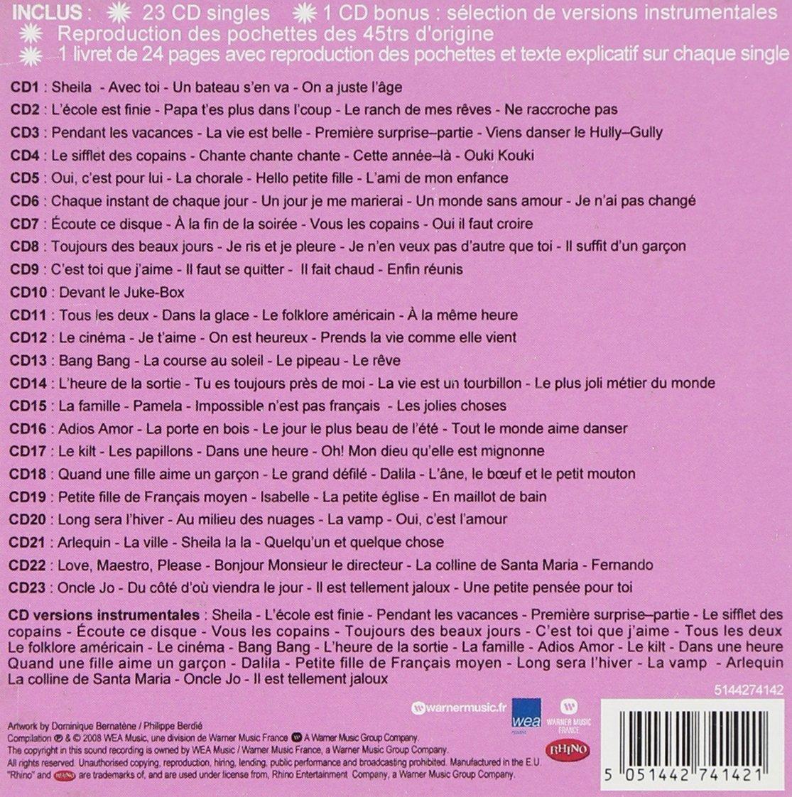 Amazoncom Lintegrale Des Singles 1962 1969 Music