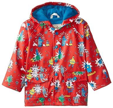 44812a63e Amazon.com  Hatley Boys  Printed Raincoat  Clothing