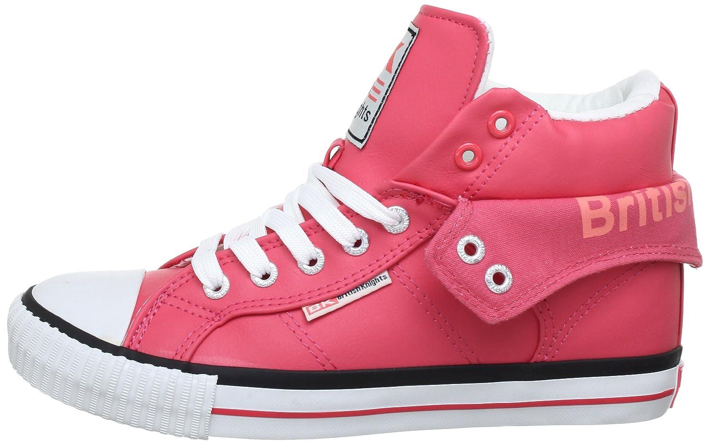 British Hohe Knights ROCO Herren Hohe British Sneakers Pink (Fuchsia/schwarz 1) 0fb83f