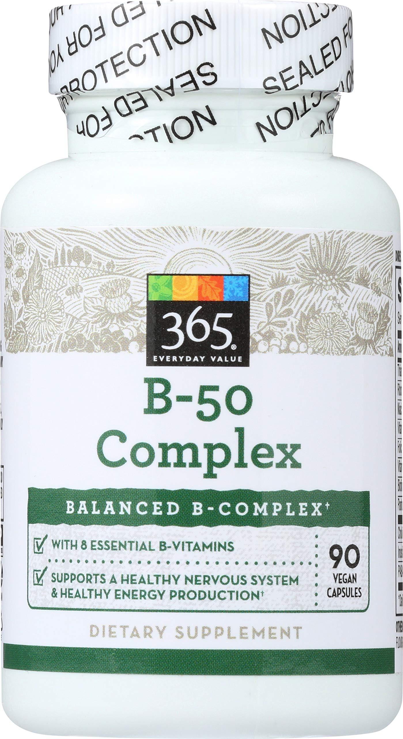 365 Everyday Value, B – 50 Complex, 90 ct