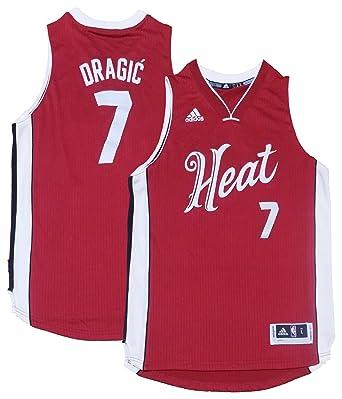 finest selection 3b4fe db493 Amazon.com: Goran Dragic Miami Heat #7 Red Youth X-Mas ...
