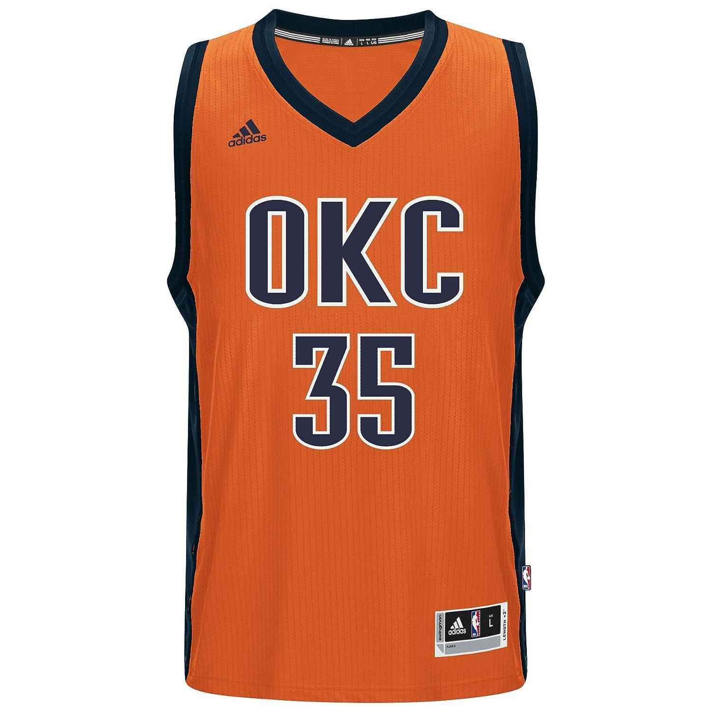 adidas Kevin Durant Oklahoma City Thunder Naranja de Alternate ...