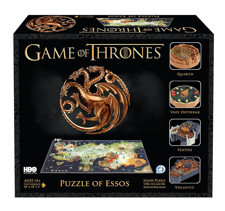 4D Game of Thrones: ESSO: ESSO (4D Cityscape) 4D Cityscape Inc 51002 Non-Classifiable Puzzles